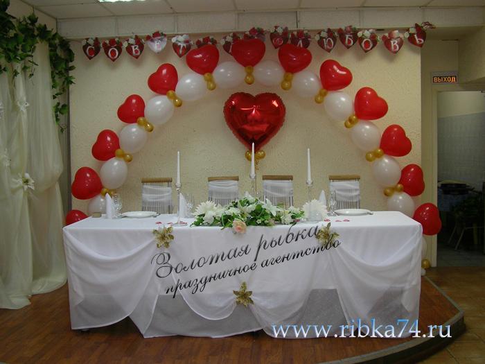 Украшение свадебных шаров своими руками